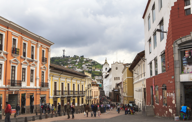 Quito and its surroundings are a good way to discover the country.